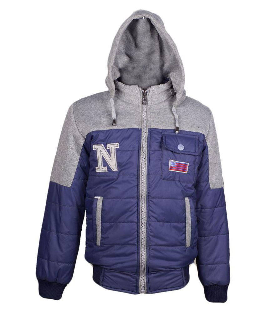 Naughty Ninos Blue Reversible Jacket for Girls