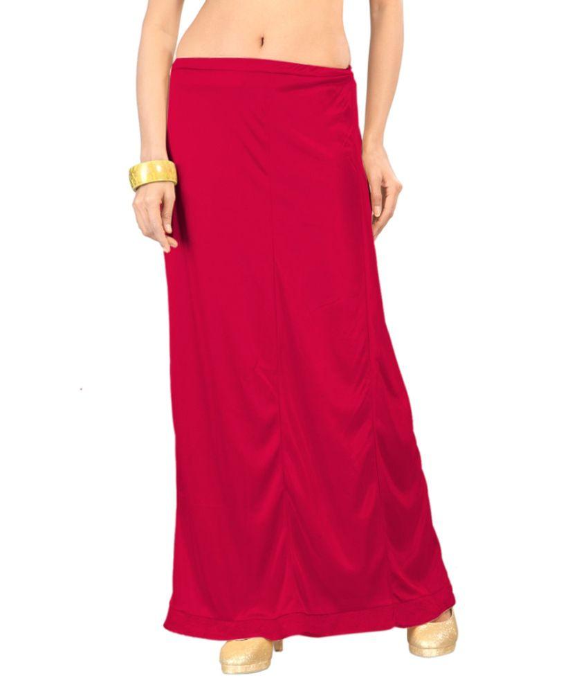 Ziya Pink Satin Petticoat Price in India
