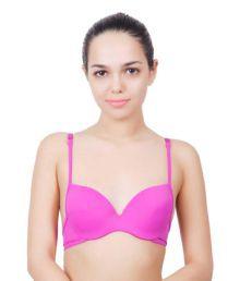 Innocent Care Pink Cotton Lycra T-Shirt/ Seamless Bra - 667346585871
