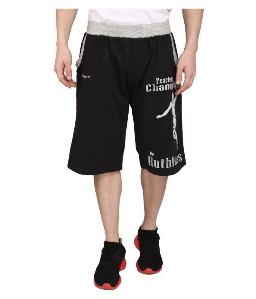 Play-R Grey Sports Shorts