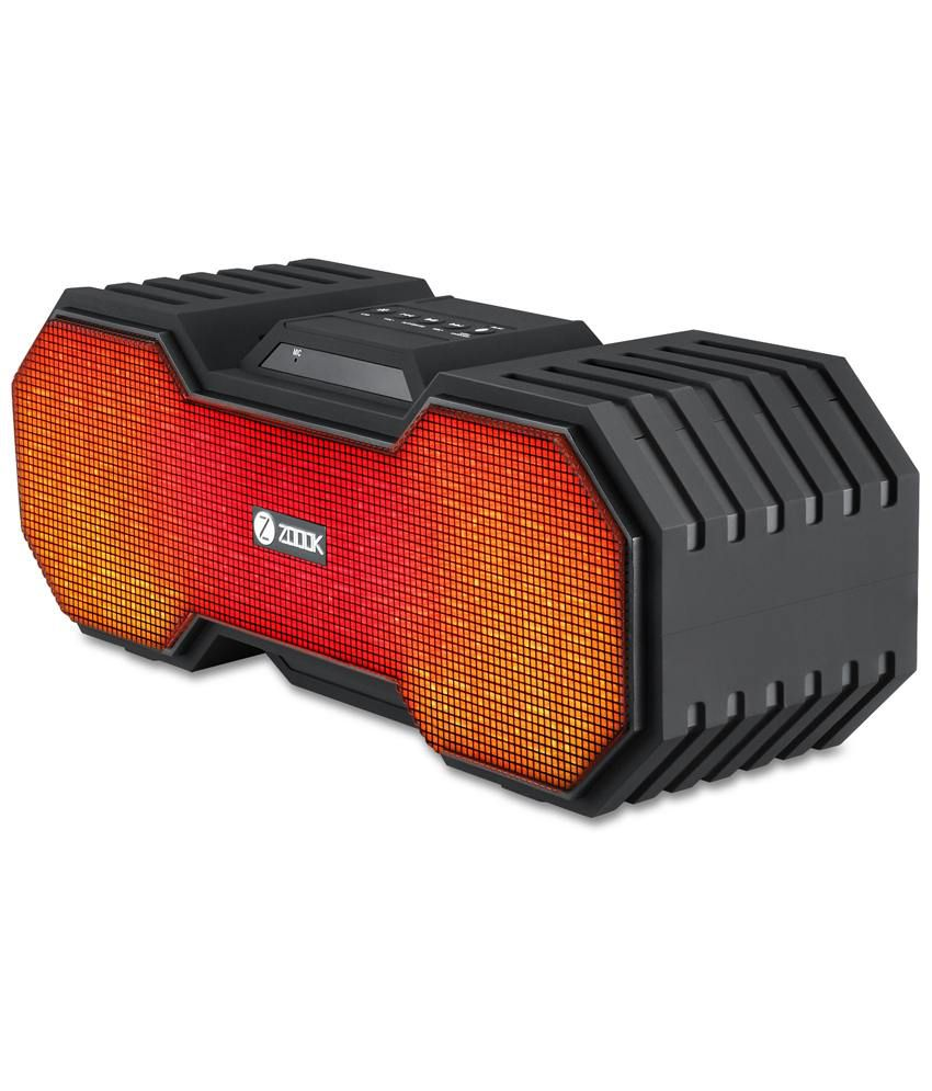 Zoook Rocker 3 Wireless Bluetooth Portable BT Speaker with Dynamic LED Lights and HD sound