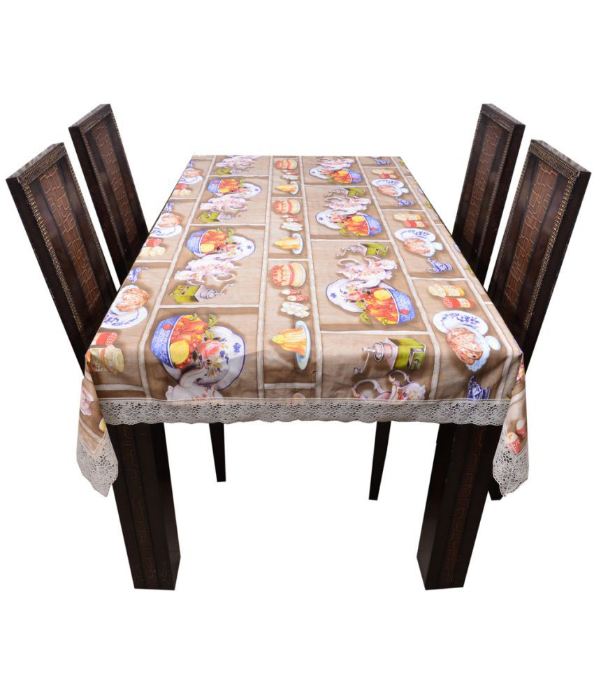 Decor Club 8 Seater PVC Single Table Covers