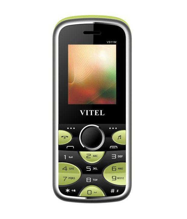 VITEL V911m 4GB and Below Black