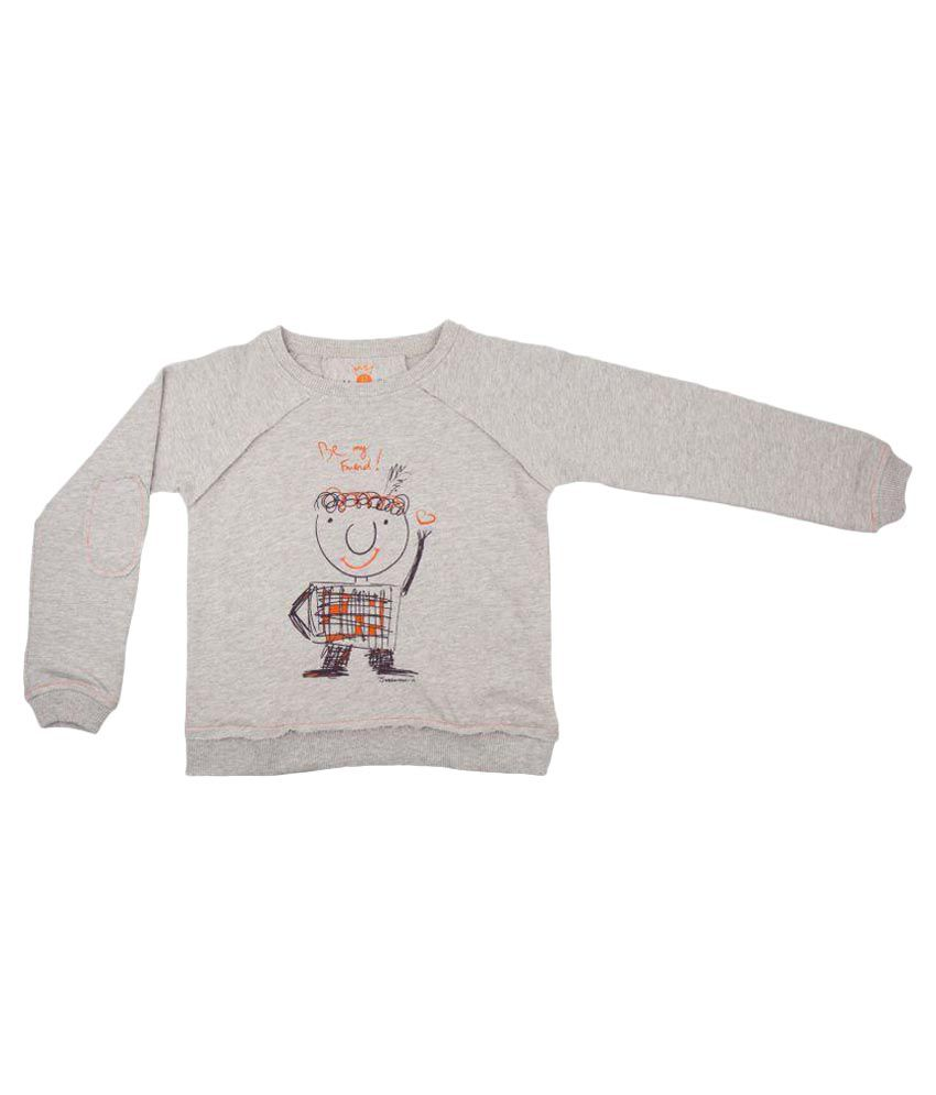 Needybee Grey Sweat Shirt