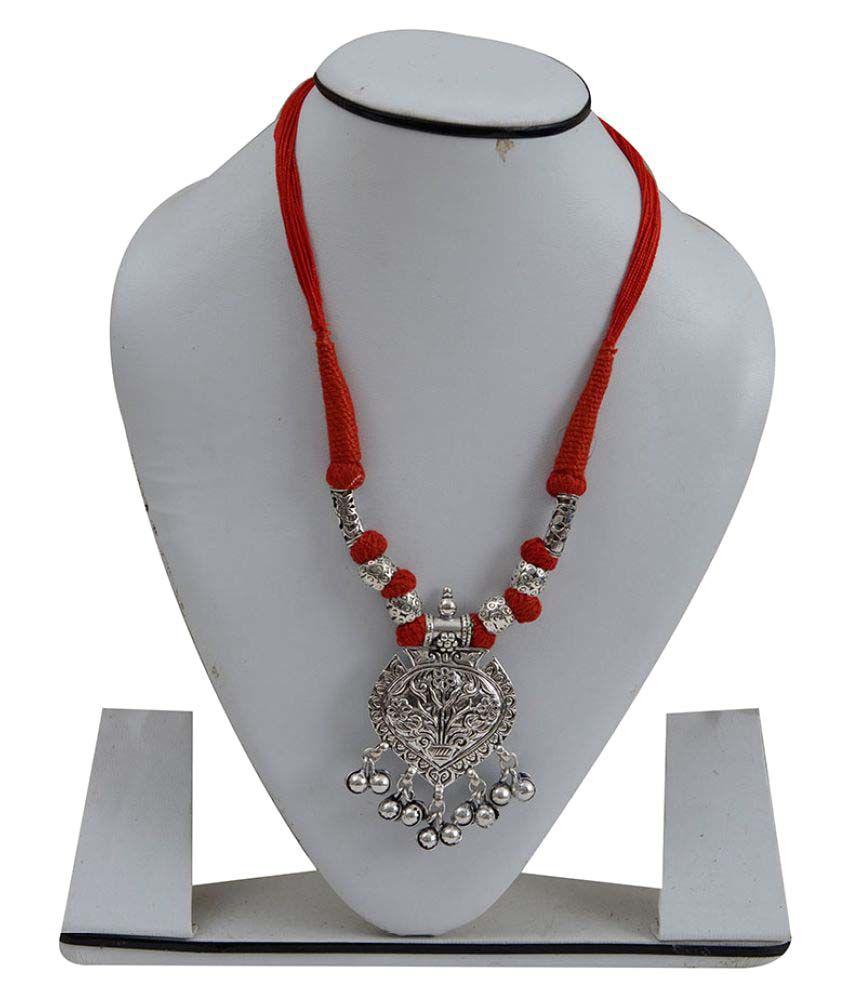 Taj Pearl designer Tribal Necklaces