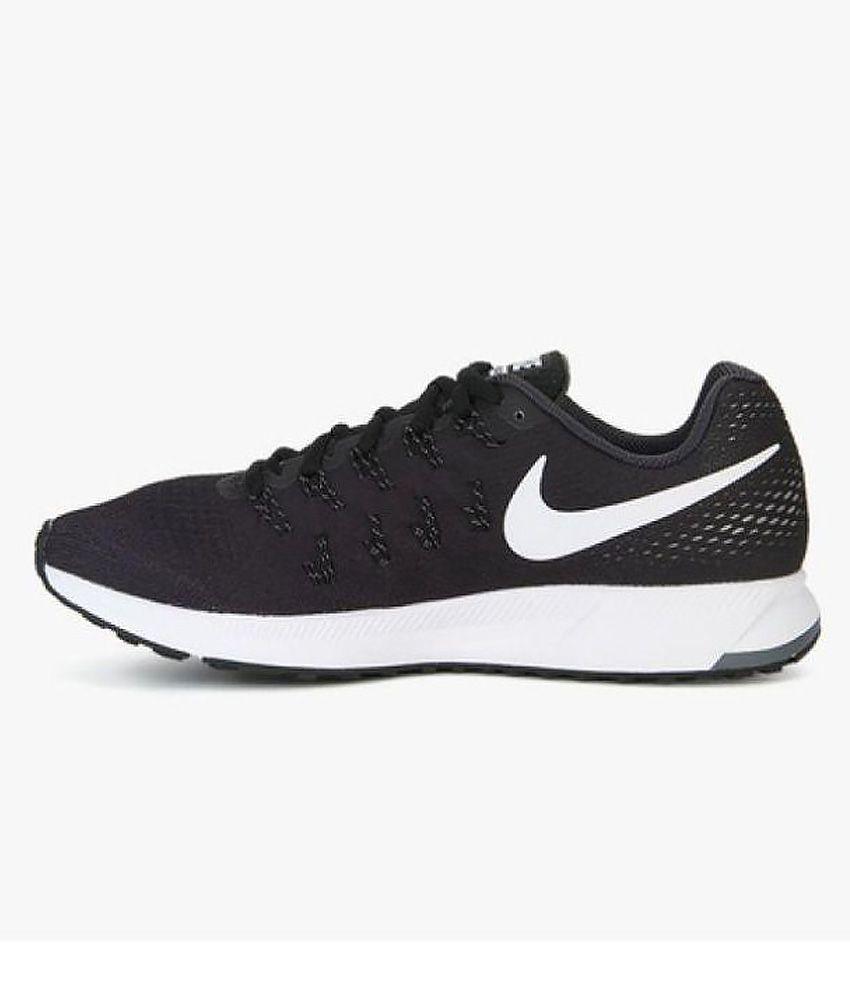 nike running shoes black air. nike air zoom 33 pegasus black training shoes running d