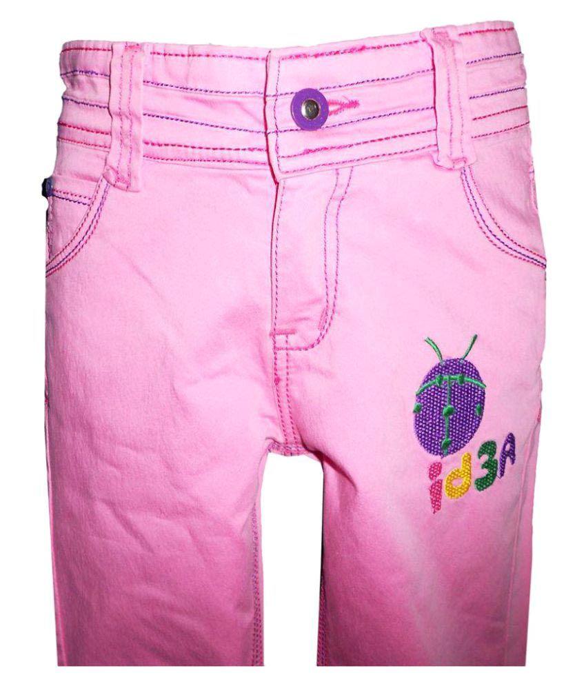 Brisa Pink Cotton Capri