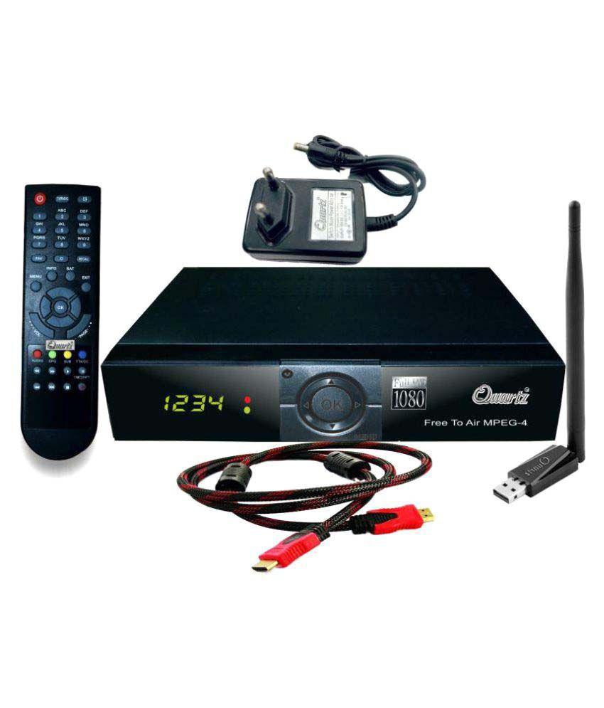 Quartz(Mini) Mpeg-4 Full HD Digital Satellite Receiver(Free to air