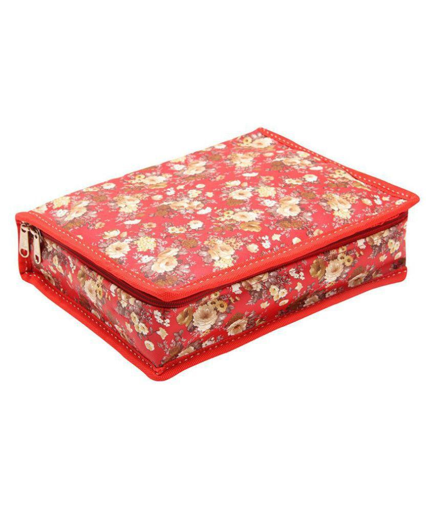 Yash Big Designer Red Jewellery Cum Bangle Box