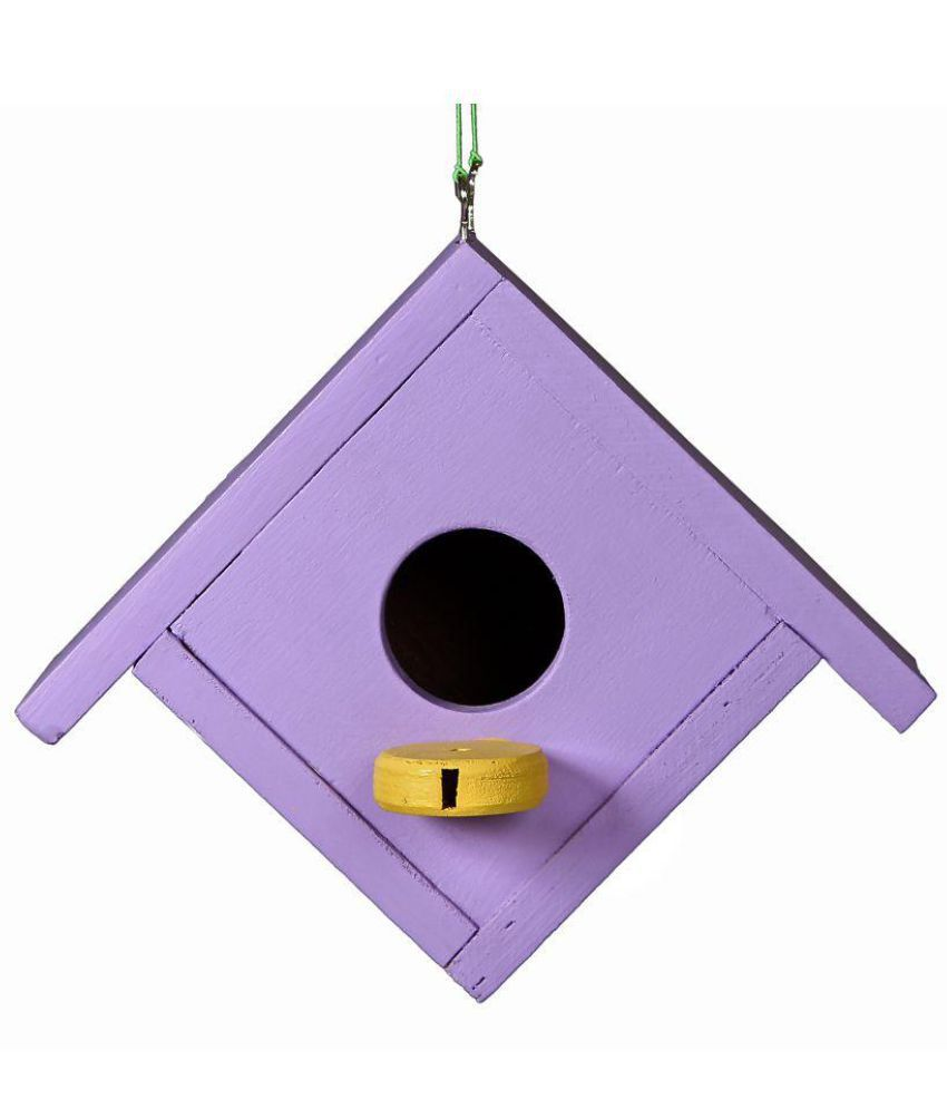 Comfy Purple Wooden Nest Medium Less Than 1 Ltr