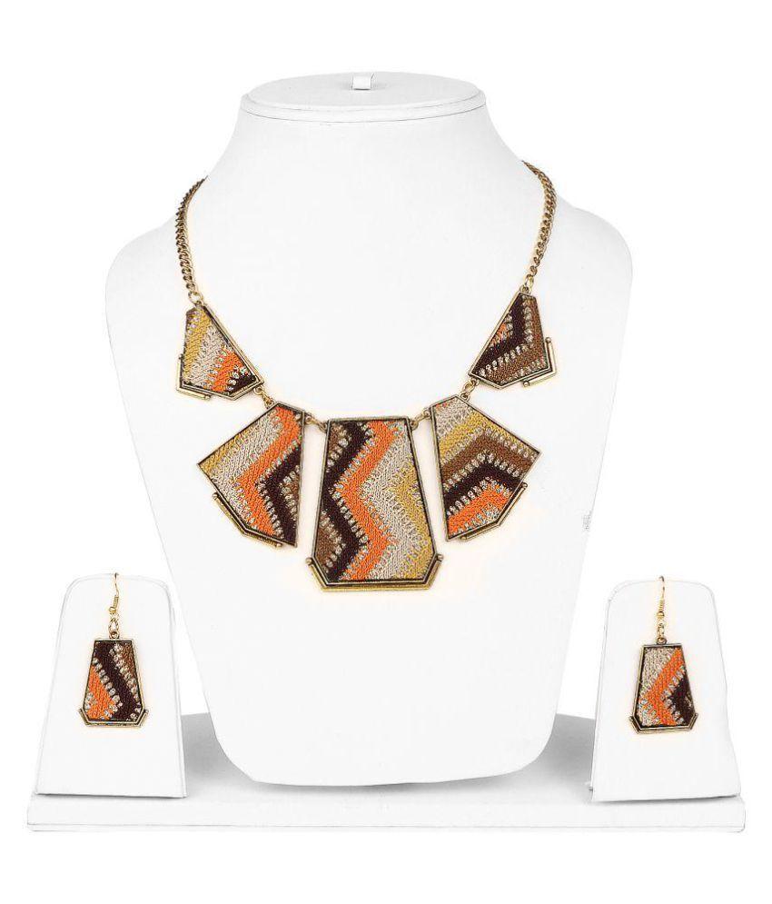 Johareez Multicolour Necklace Set
