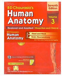 Human Anatomy: Regional and Applied Dissection and Clinical Volume 3 Paperback English