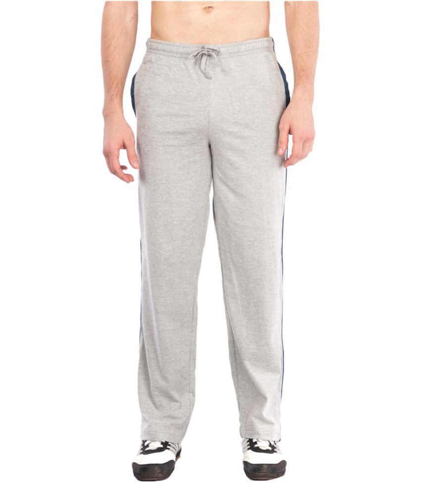 VIP Grey Cotton Trackpants Single