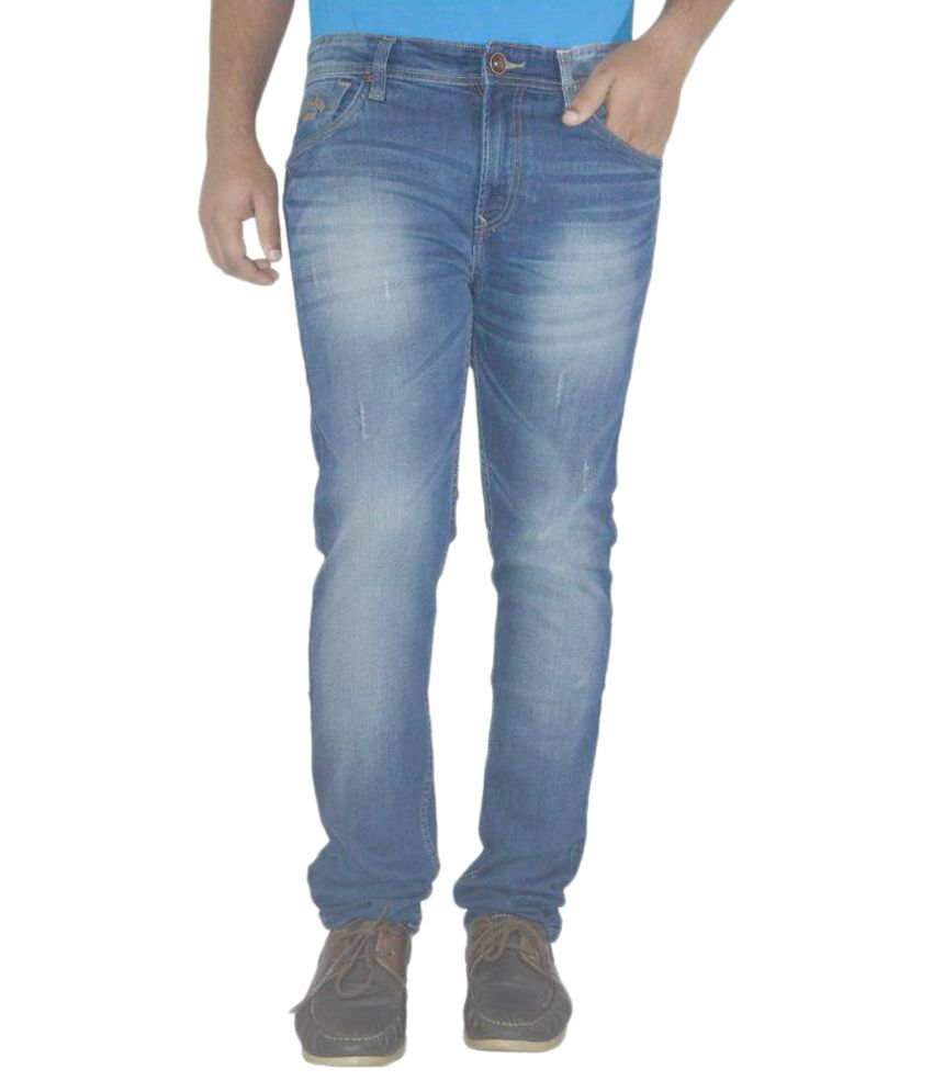 Pepe Jeans Blue Skinny Washed