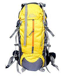 Himalayan Adventure 60-75 litre Yellow Hiking Bag