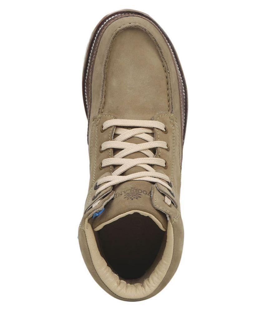 Woodland Khaki Casual Boot