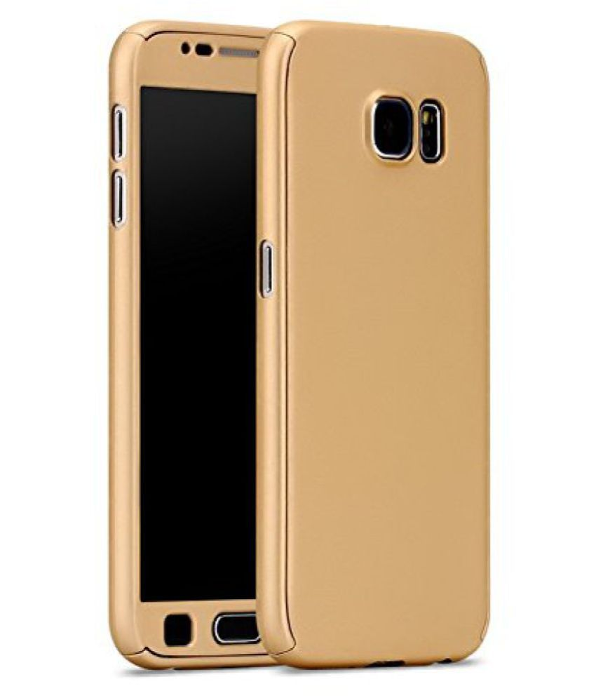 the best attitude a2dc1 7dfb8 Samsung Galaxy S6 Edge Cover by Ipaky - Golden