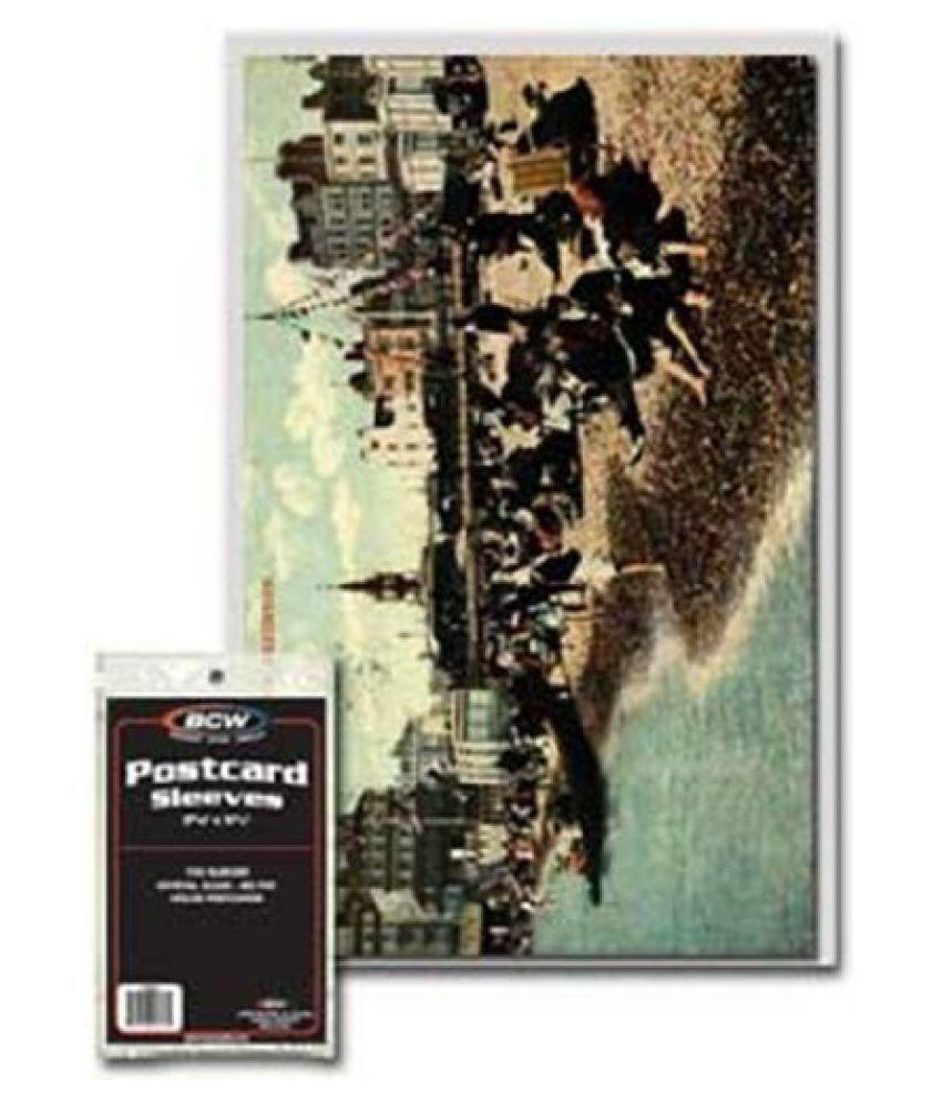 BCW Postcard Sleeves Pack of 100