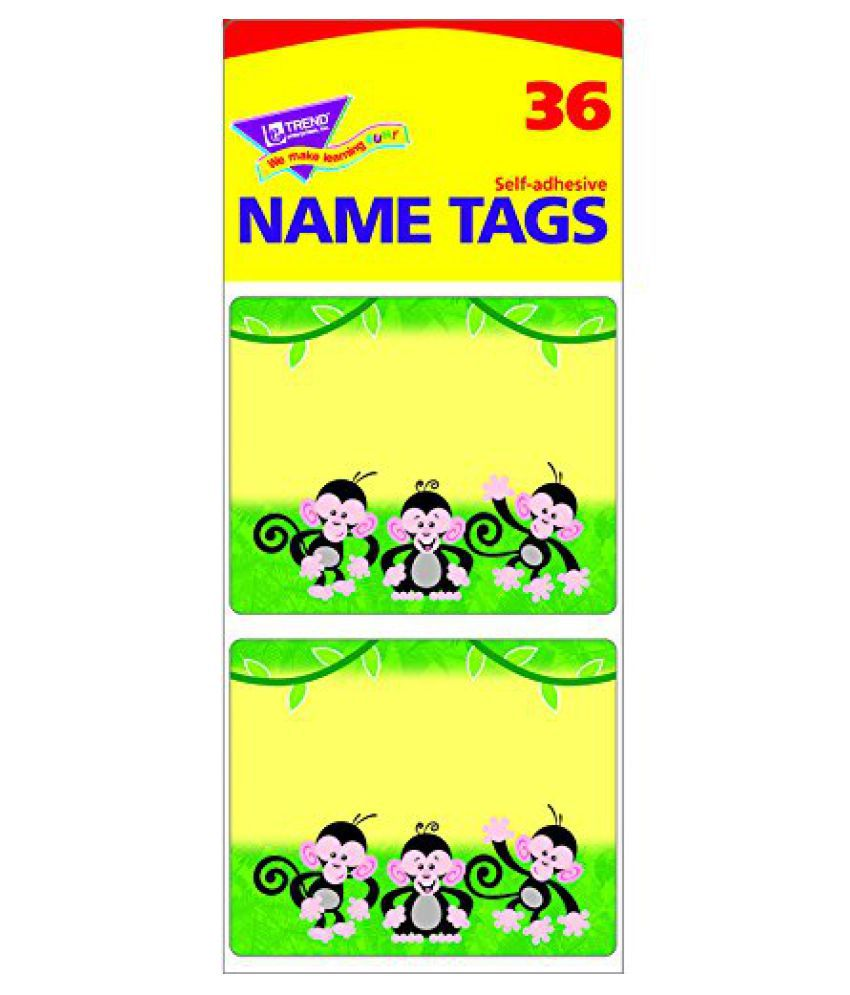 Monkey Mischief Name Tags Buy Monkey Mischief Name Tags Online At Low Price Snapdeal