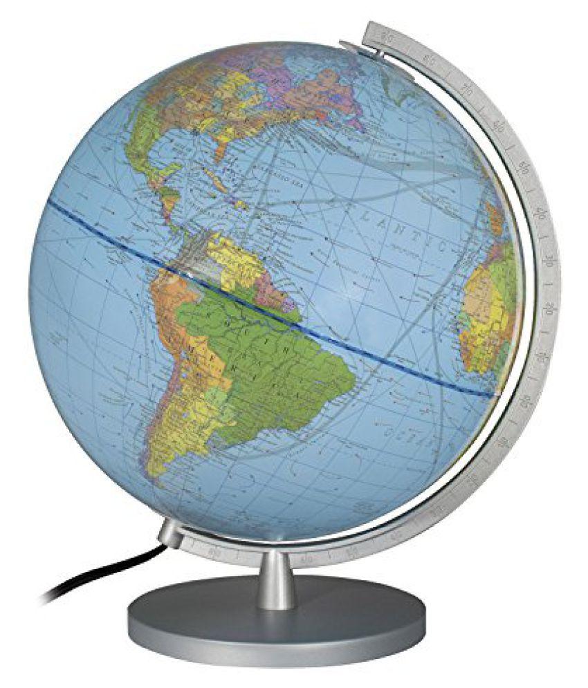Columbus Explorer Illuminated Desktop Globe 12 Inch
