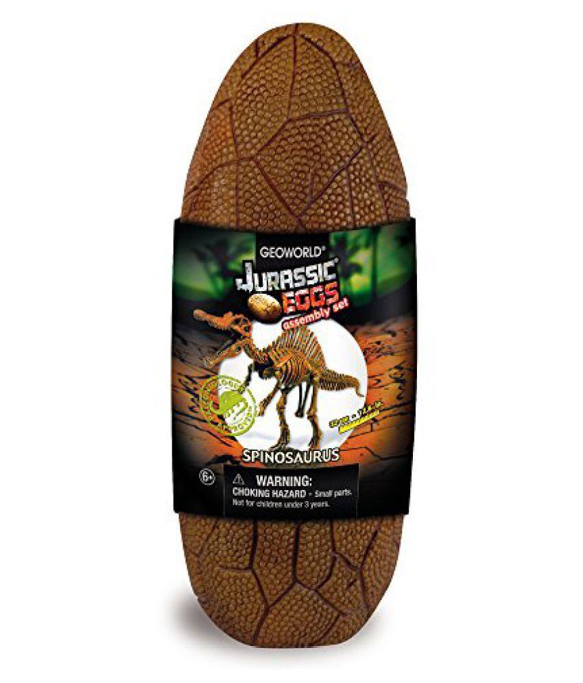 Geoworld Jurassic Eggs Spinosaurus Skeleton Assembly Set