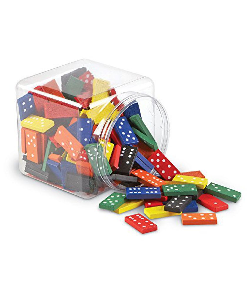 Learning Resources Double-Six Dominoes in Bucket (LER0287)