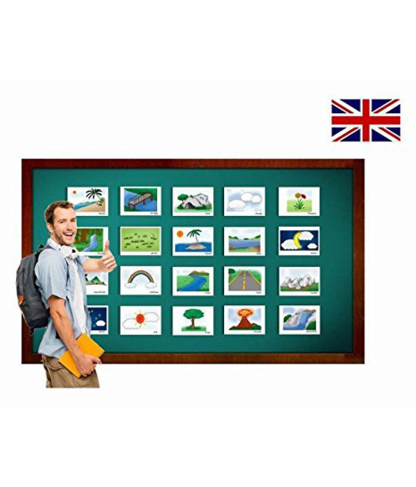 Nature, Land and Environment Flashcards - English Vocabulary Cards