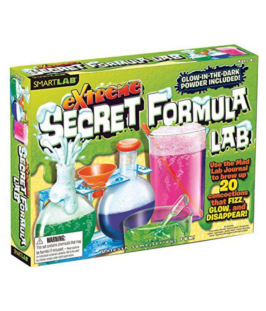 SmartLab Toys Extreme Secret Formula, Multi Color
