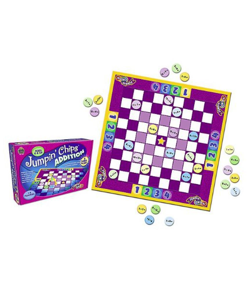 Teacher Created Resources Jumpin Chips Addition (7837)
