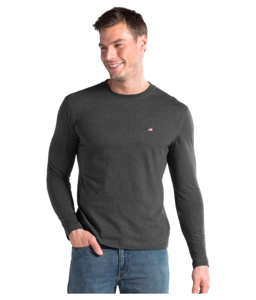 Jockey Grey Round T-Shirt