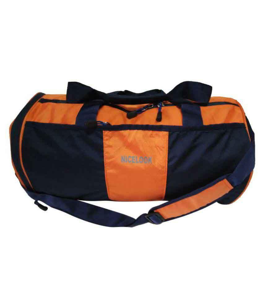 NiceLook Orange Gym Bag