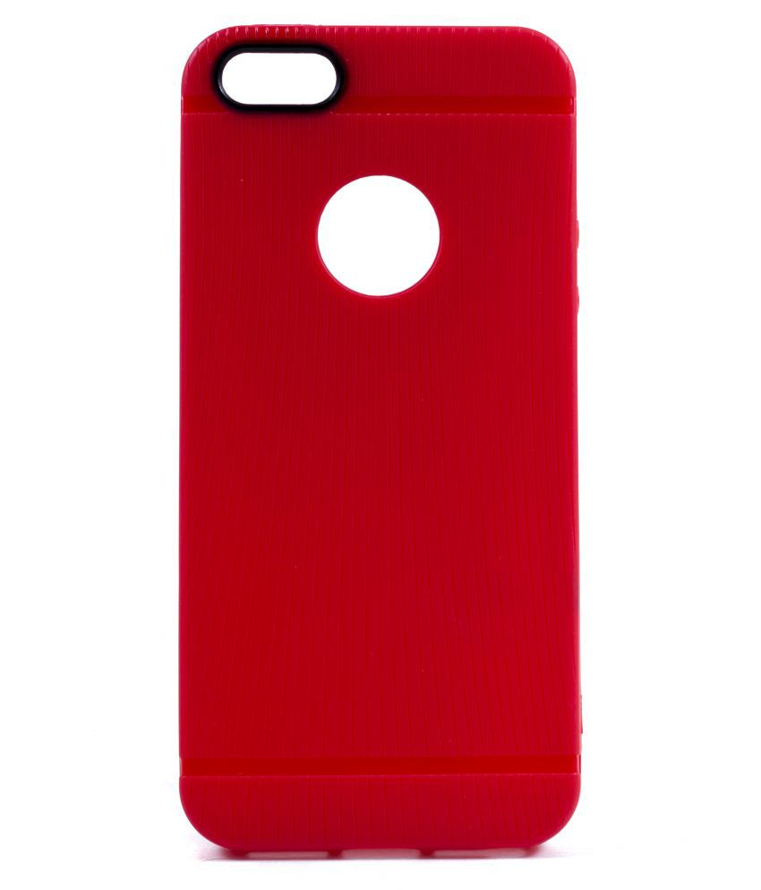 Apple iPhone 5 Cover by Saihan - Red