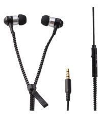 Erry In Ear Wired Earphones With Mic Black