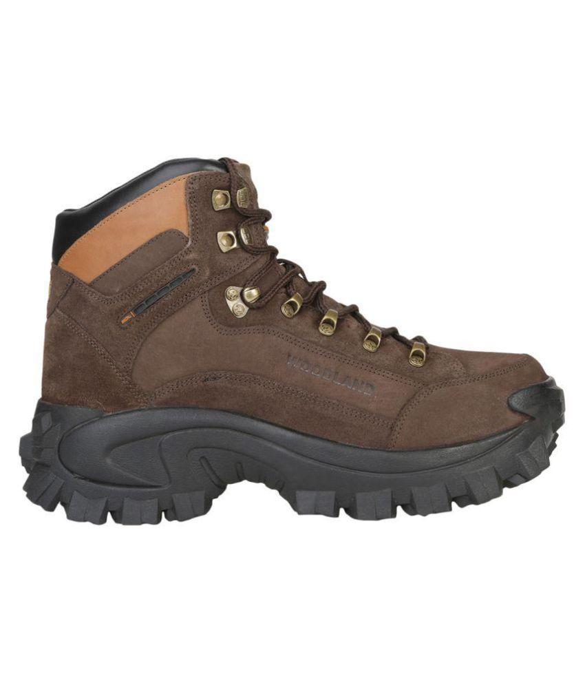 Woodland Brown Hiking & Trekking Boot