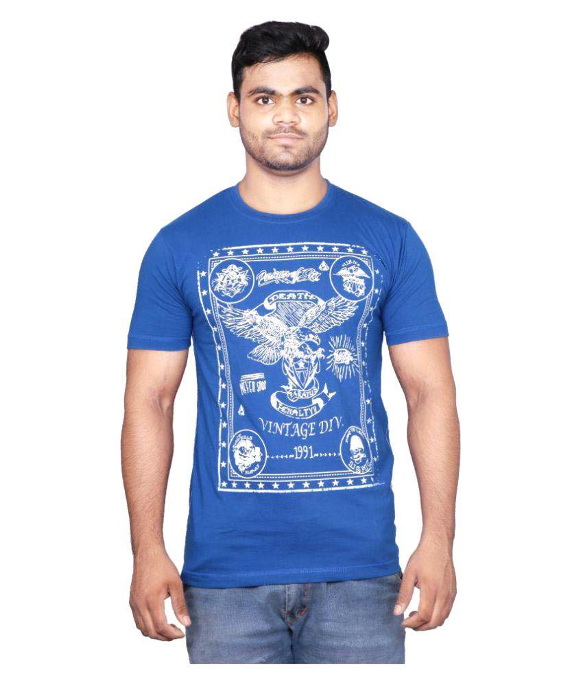 Cf Better Deals Blue Round T-Shirt