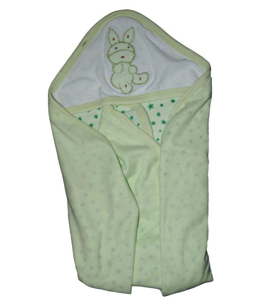 Muren Green Plain Single Top Wrapper Sheet