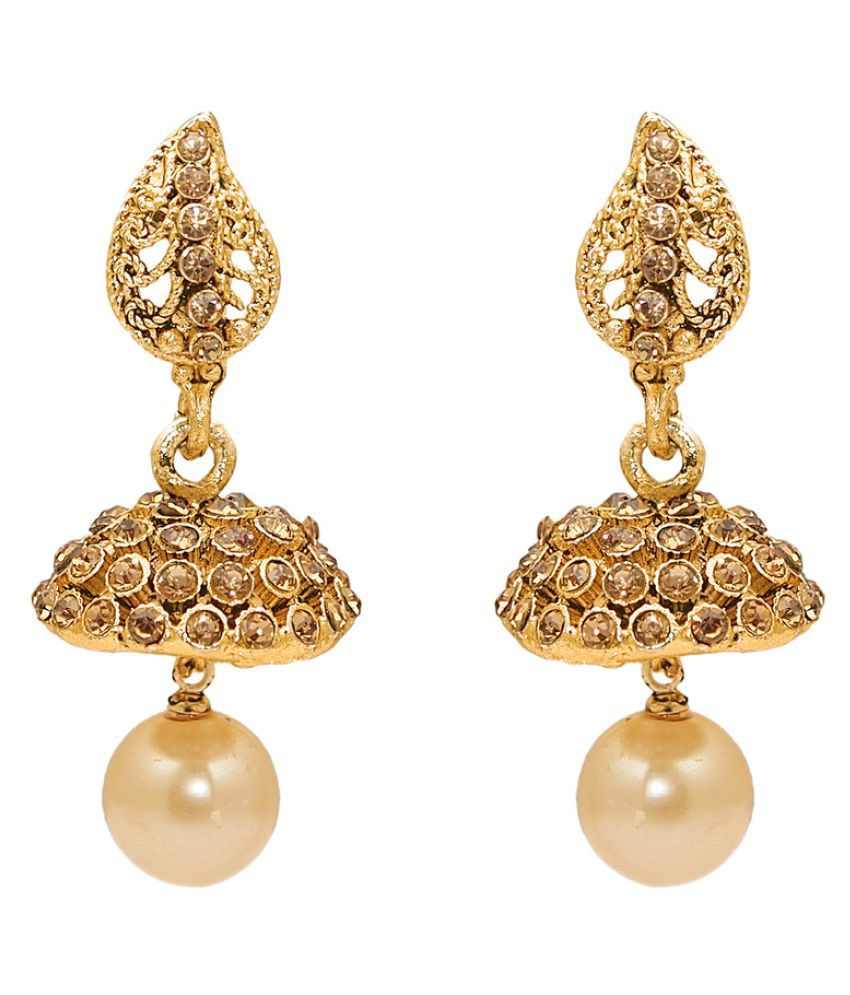 Kriaa Golden Earrings