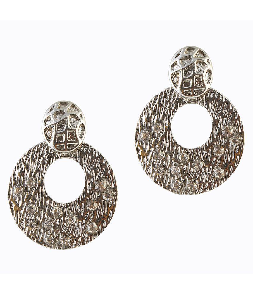 Kriaa Silver Hanging Earrings