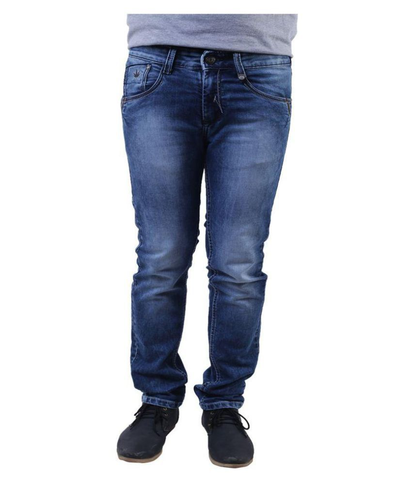 Leemarc Blue Relaxed Washed