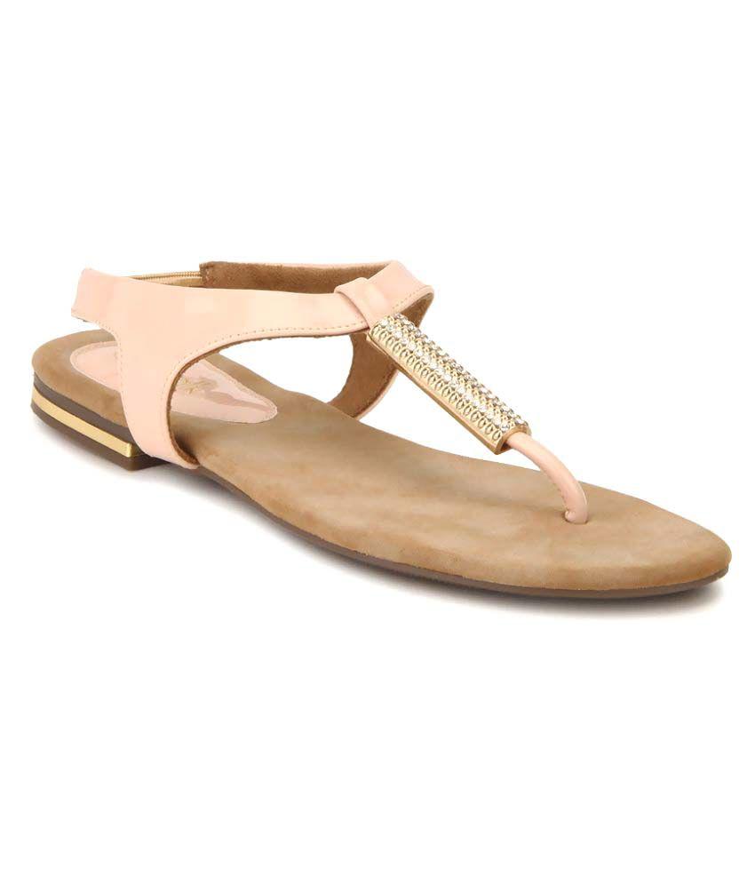 Catwalk Pink Flats