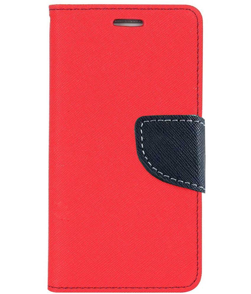 Lenovo K4 Note Flip Cover by cellshop - Red