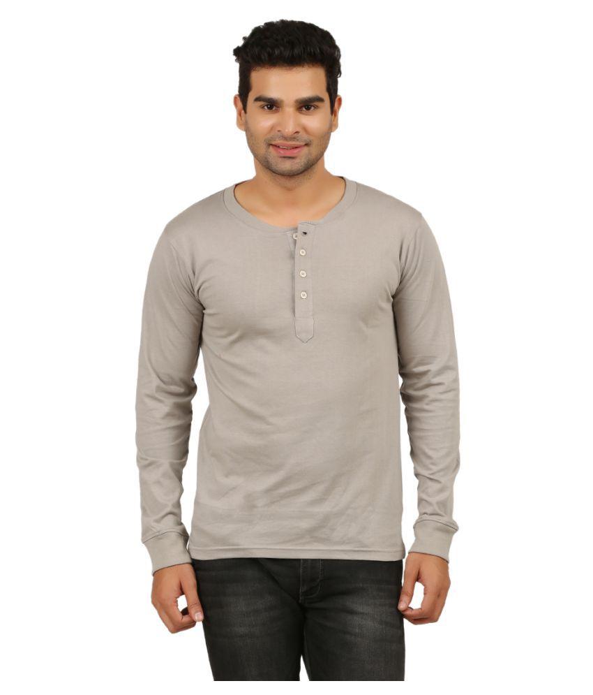 DNA Grey Henley T-Shirt