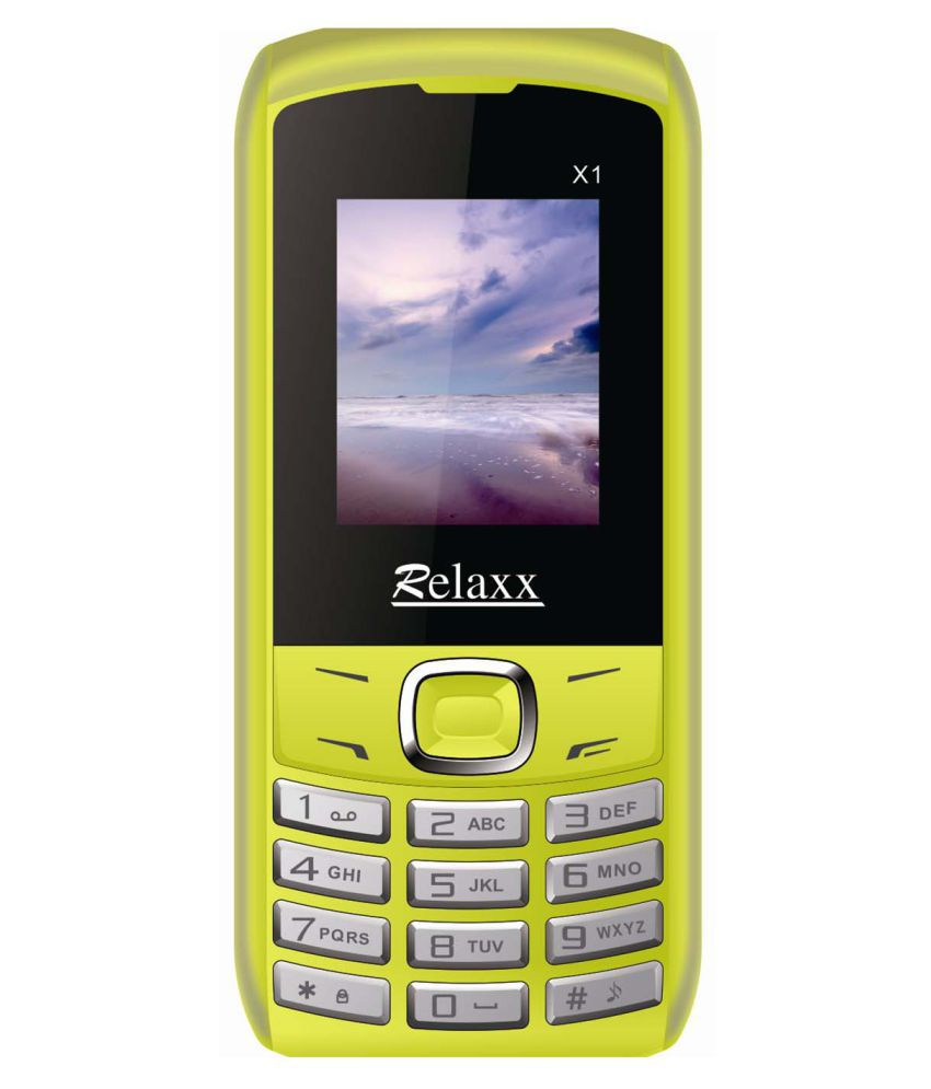 Relaxx X1 4GB and Below Yellow