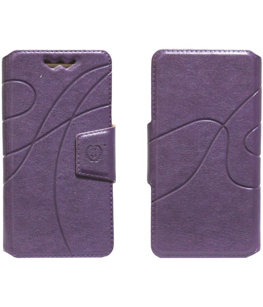 Xiaomi MI3 Flip Cover by Jojo - Purple