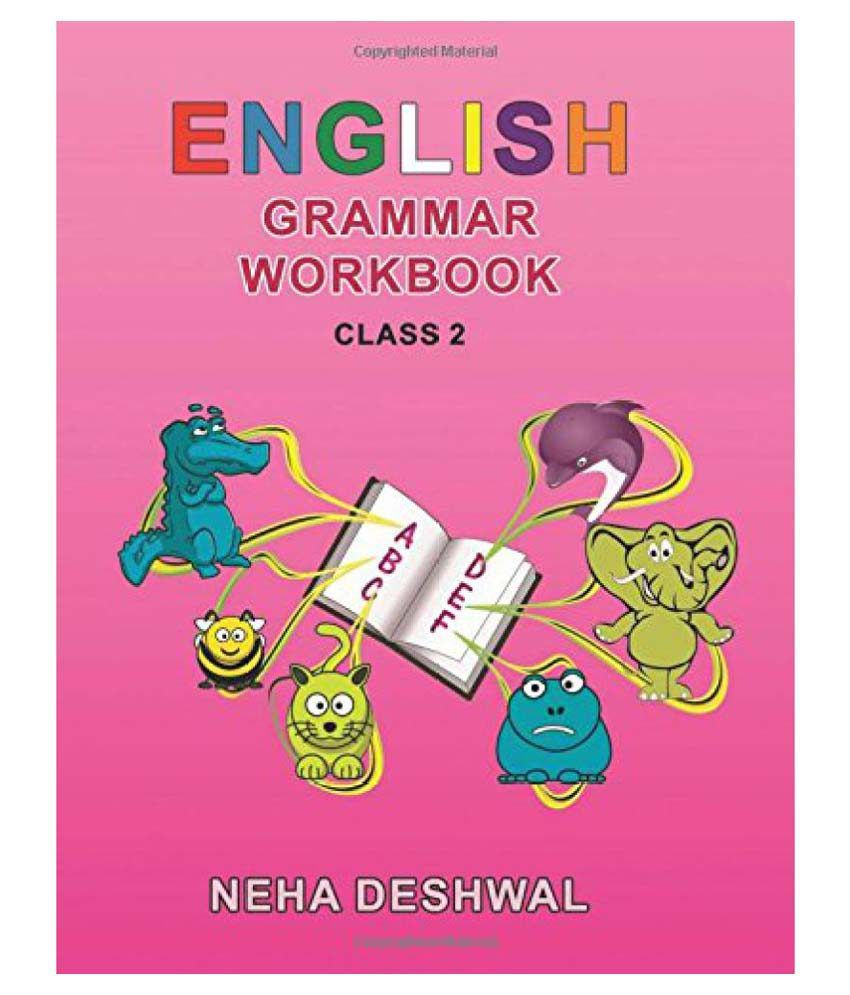 English Grammar Workbook Class - 2: Buy English Grammar Workbook ...