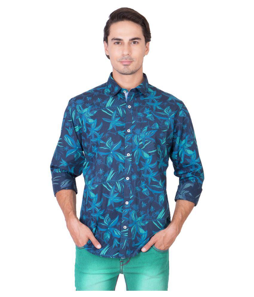 Feel It Blue High Neck T-Shirt