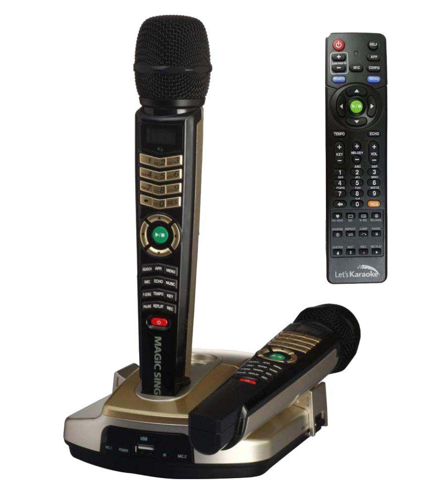 Buy Magic Sing ET23KH Karaoke Systems With Inbuilt 4600