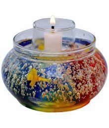 My Art Glass Diwali Candles Multicolour - 656479150989