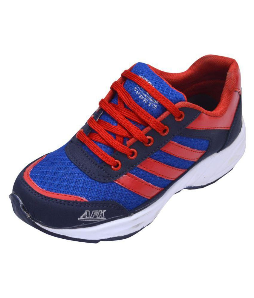 A.F.K. Red Running Shoes