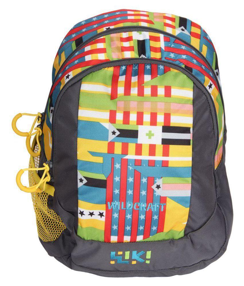 Wildcraft Kids Multicolour Polyester School Bag Buy Wildcraft Kids
